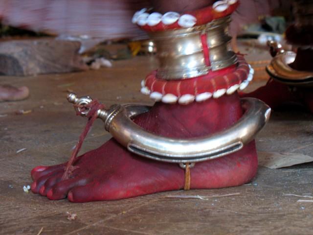 Стопа богини Чамунди