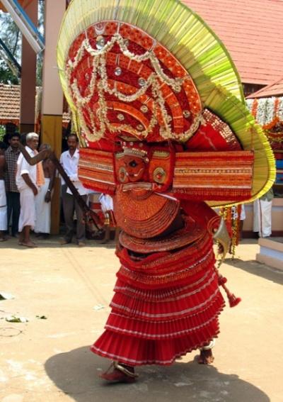 Тейям в Арикади. Богиня Чамунди