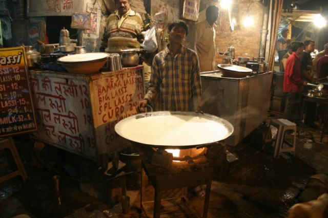 Дели. Уличная кухня