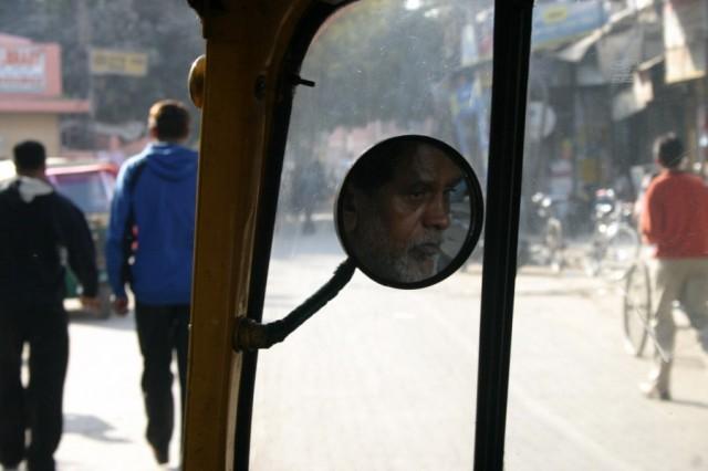 Дели. Портрет делийского рикши