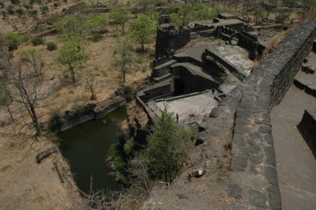 В крепости Даулатабад