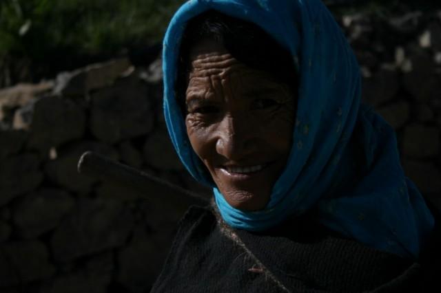Жительница Киббера