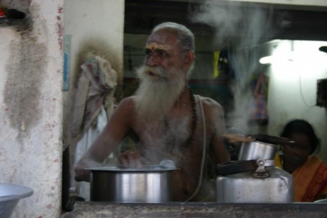 Мамалапурам. Старик Хоттабыч