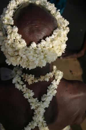 Мамалапурам. Цветочное обмундирование