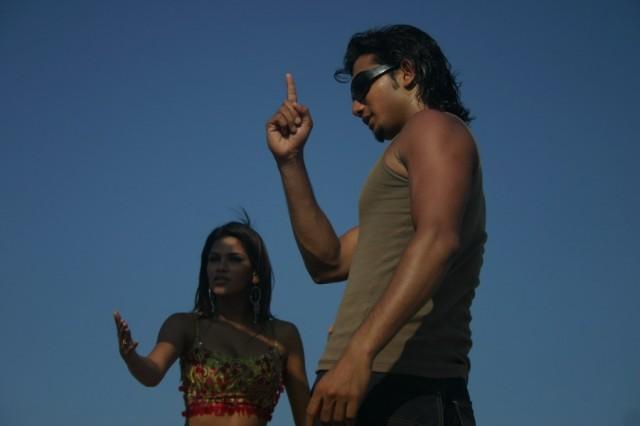Мамалапурам. Снимается индийское кино.