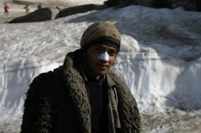 На перевале Рохтанг
