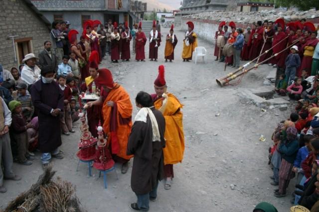 Буддийский ритуал. Долина Спити