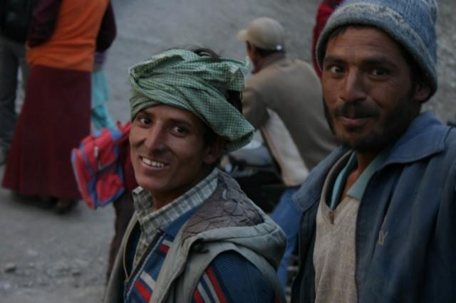 Долина Спити. Эти люди, похоже, из Кашмира