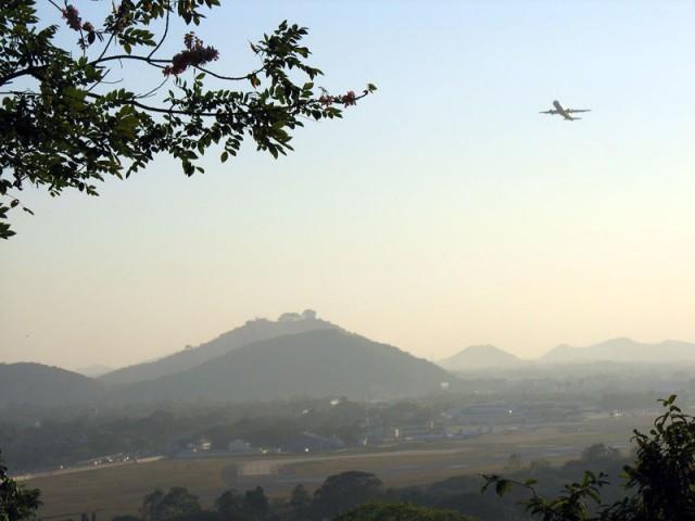 Ченнай. Вид с Горы Святого Фомы.