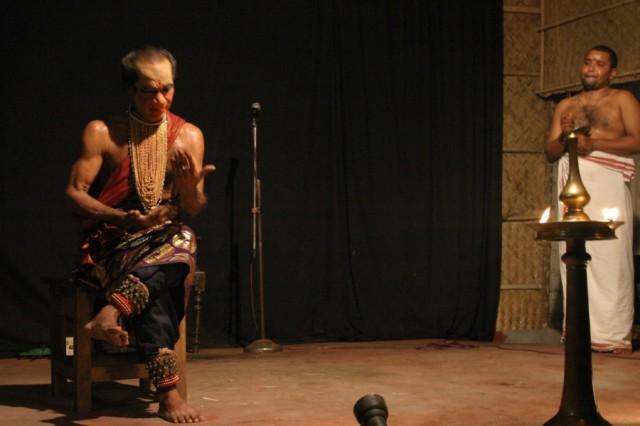 Представление Катхакали