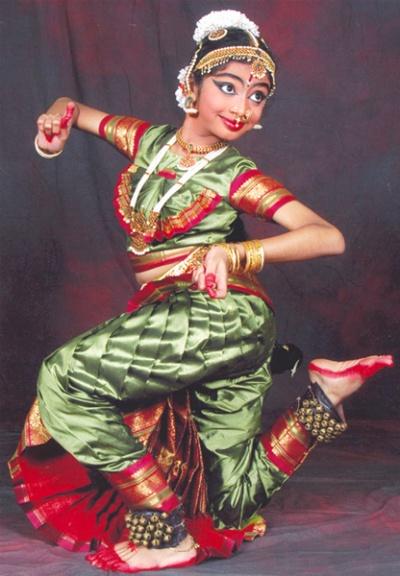 Индийский танец Бхарата-натьям