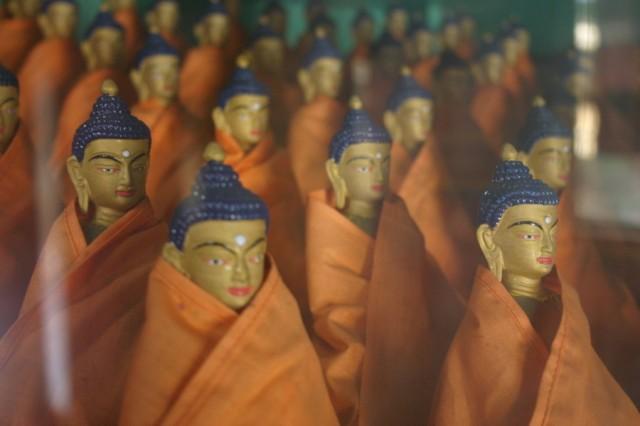 Варанаси. Армия Будд