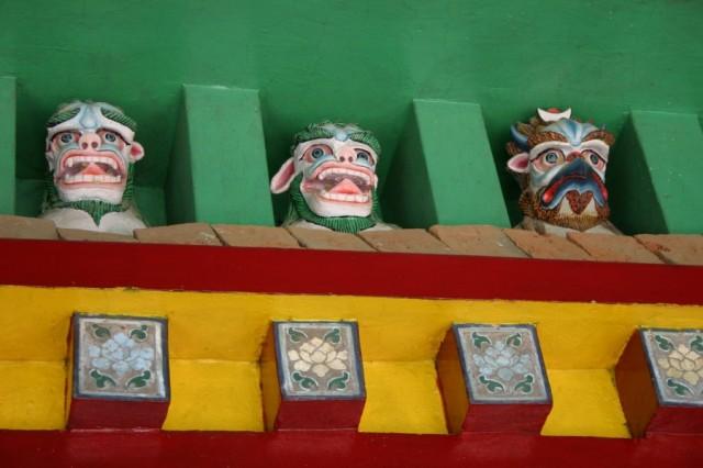 Варанаси. Буддистские духи