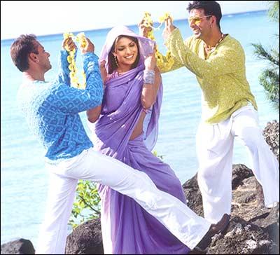 Кадр из современного индийского фильма