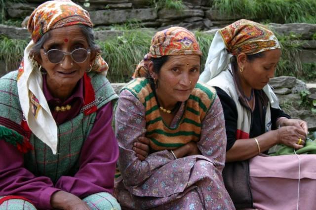 Женщины долины Куллу
