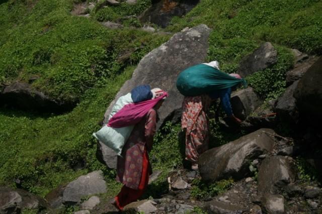 Жительницы гор