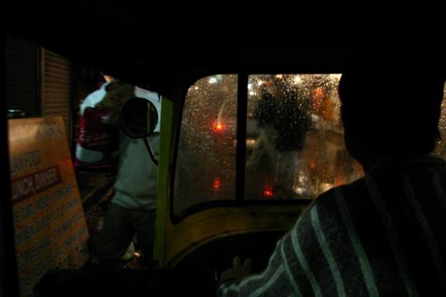 В рикше