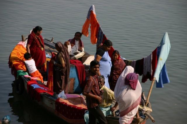 Нарядная лодка
