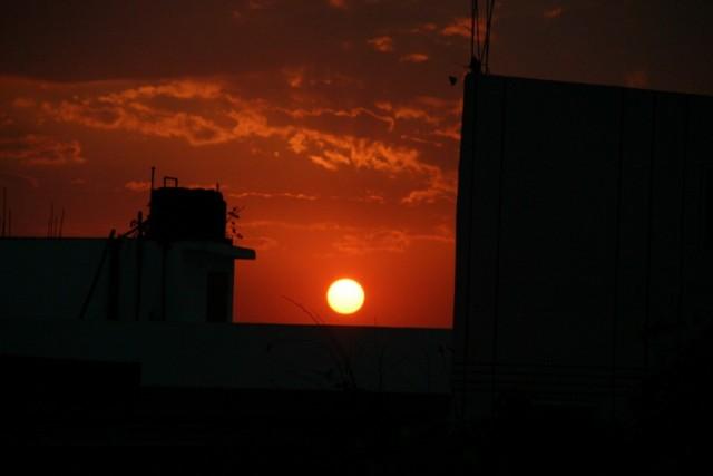 Закат в Варанаси