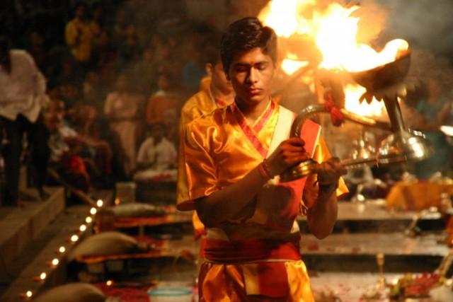 Ганга-пуджа, обряд поклонения Ганге
