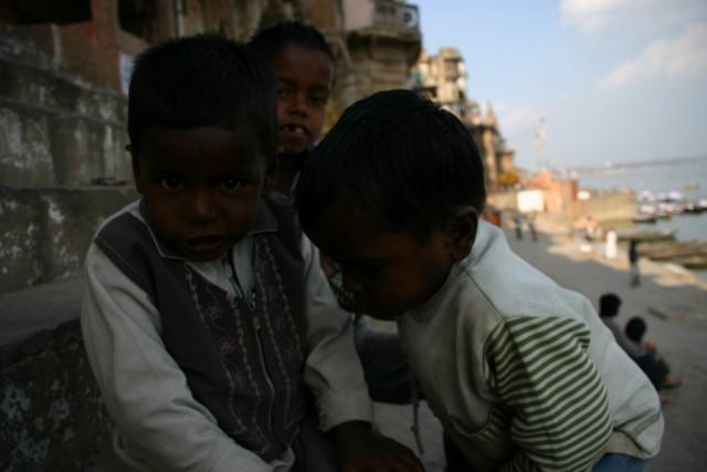 Ребятня в Варанаси