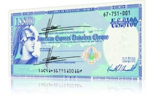 Дорожный чек American Express