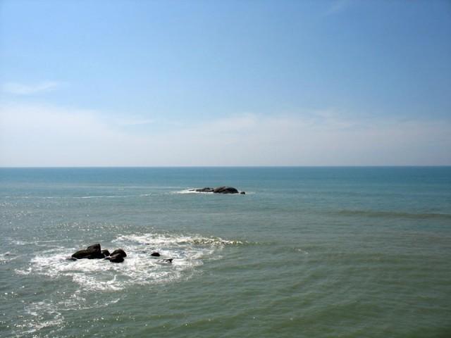 океан в Каньякумари