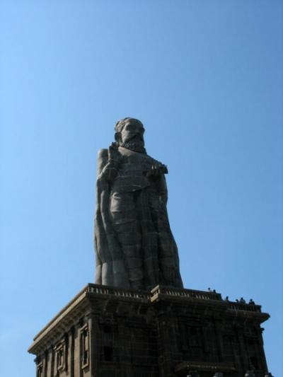 Каменная статуя тамильского поэта Тируваллура, жившего во времена Христа