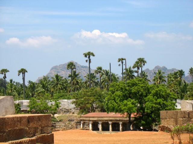 Форт в Виттакотай, около Каньякумари