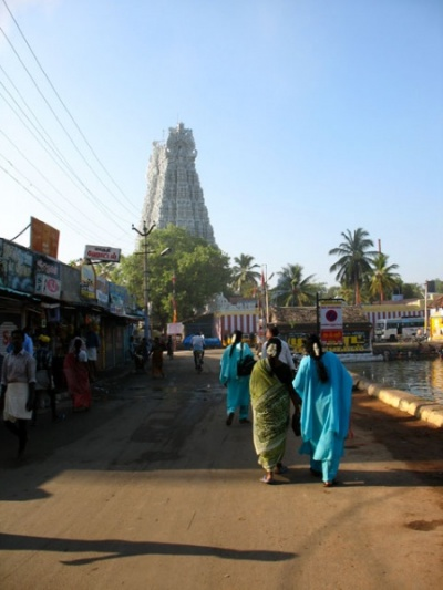 дорога к храму Сучиндрам