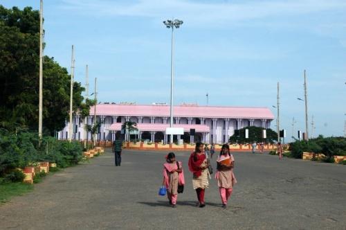 Железнодорожный вокзал Каньякумари