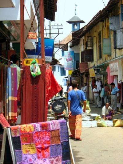торговая улочка в еврейском квартале