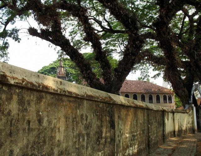 улочка в форте Кочин