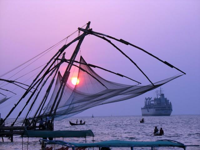 китайские рыболовные сети