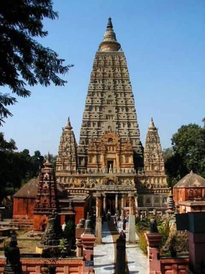 Храм Будды в Бодхгайе