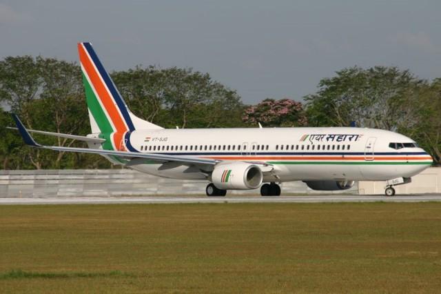 Самолет авиакомпании Air Sahara