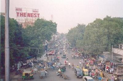 Вид на улицу около Main Bazar Str.