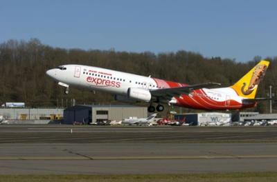 Самолет авиакомпании Air India Express