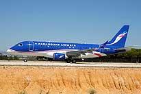 Самолет авиакомпании Paramount Airways
