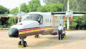 Самолет авиакомпании Jagson Airlines