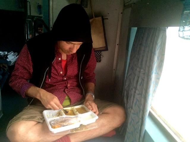 Питание в индийских поездах
