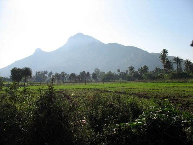 вид на гору Аруначала