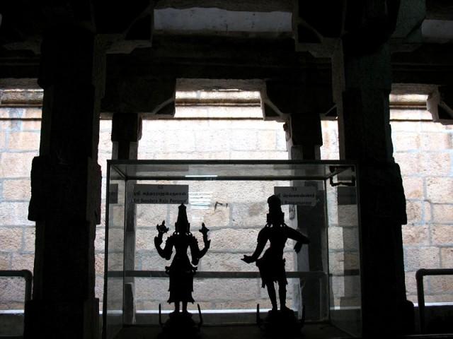 Силуэты. Храм Минакши в Мадурае
