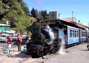 Игрушечный поезд в Дарджилинге