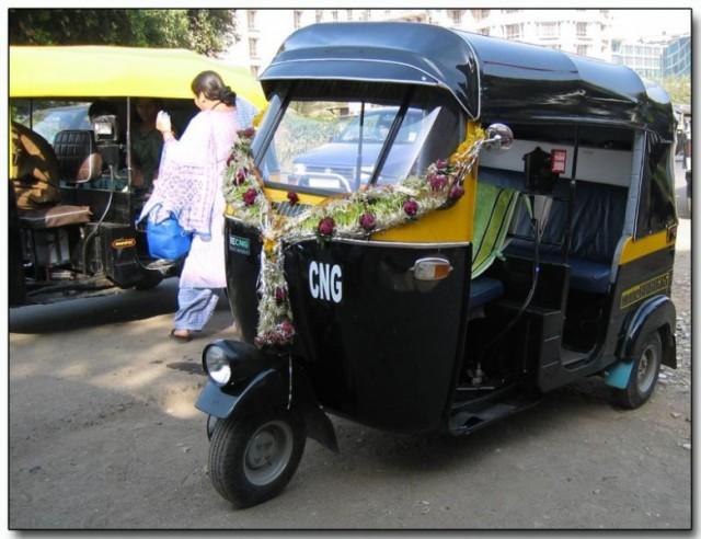 Авторикша в Мумбае