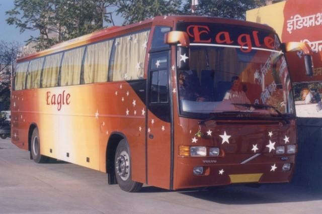 Внешний вид автобуса Вольво