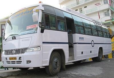 Автобус-люкс в Индии