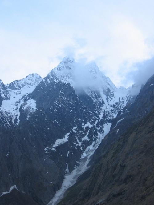 Горы в Бадринатхе
