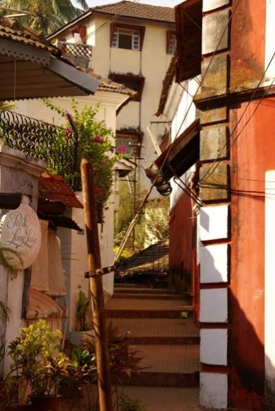 Панджим старый христианский жилой квартал Fontainhas