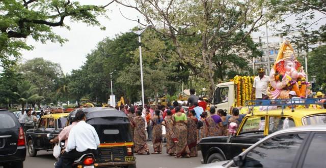 Ганеш в Мумбае